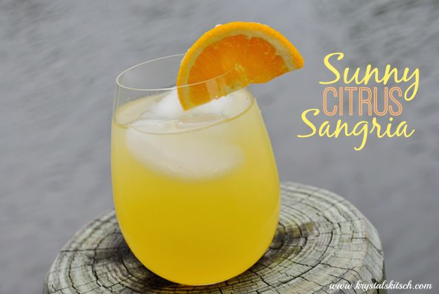 Sunny Citrus Sangria: an easy, refreshing cocktail for brunch! Try it ...