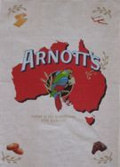 We love the typography of these 100% linen tea towels featuring Australian advertisements. Give your kitchen a nostalgia hit. William Arnott started making biscuits from a bakery in Hunter Street, Newcastle in 1865. William Arnott's Steam Biscuit Factory was established in 1875 and the rosella was registered as a logo in 1888. Size 500 x 700mm. Made in China.