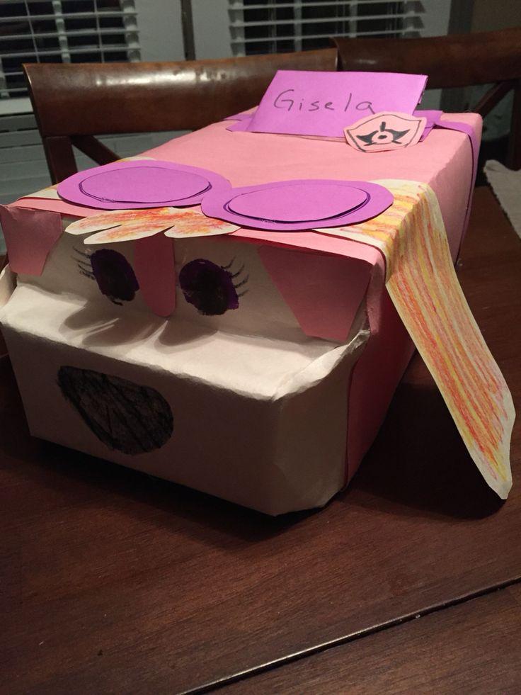 Classroom Decor Items ~ Skye paw patrol valentine box classroom party ideas