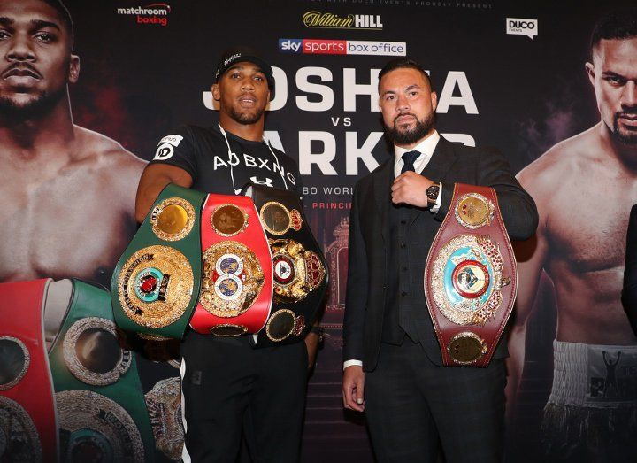 Anthony Joshua: The Rumors About My Chin - It's All Fake News #allthebelts #boxing