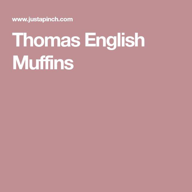 Thomas English Muffins