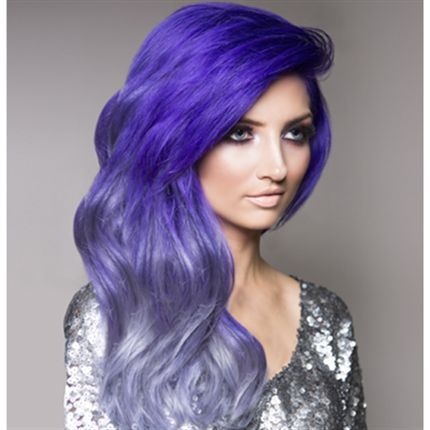 Purple and lilac ombré hair #bright #dyed #coloured #hair