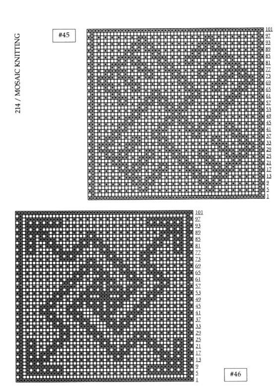 Mosaic Knitting Barbara G. Walker (Lenivii gakkard) Mosaic Knitting Barbara G. Walker (Lenivii gakkard) #219