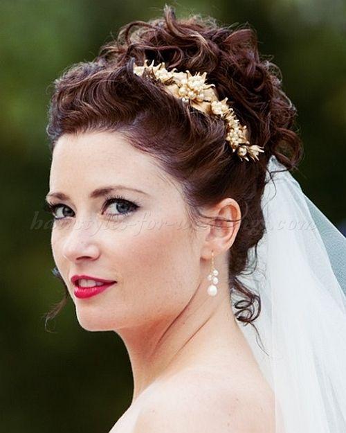 Pleasant 1000 Ideas About Wavy Wedding Hairstyles On Pinterest Wedding Short Hairstyles Gunalazisus