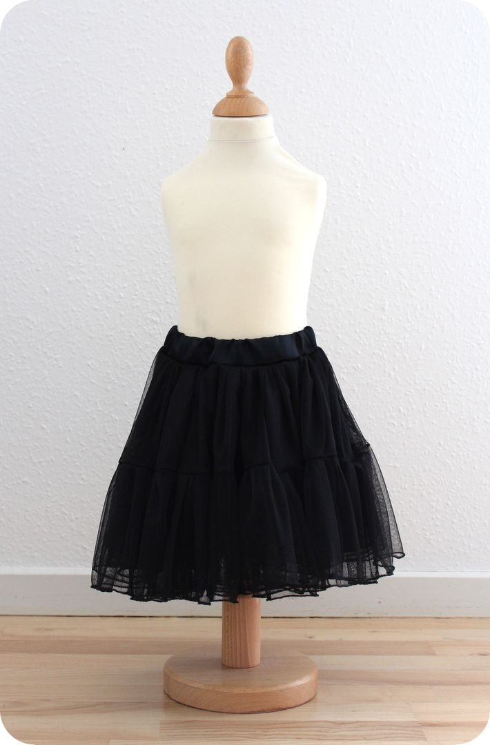 LaRaLiL: Nederdel i blød tyl - DIY