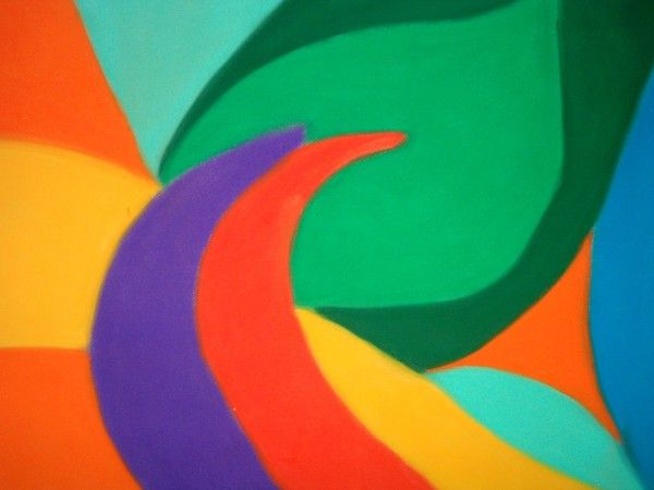 suchý pastel - 50x70cm