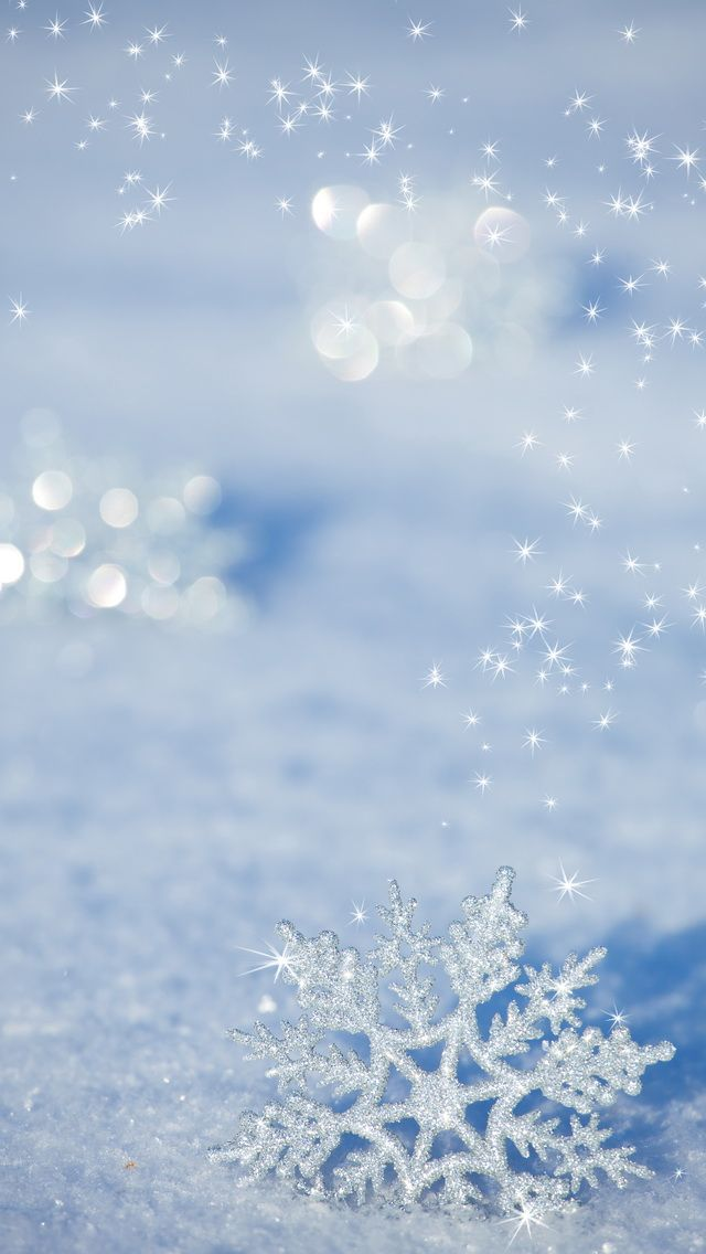 Winter Tap To See More Beautiful Snow Snowflakes