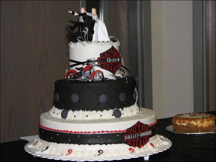 Harley Davidson Wedding: Best 25+ Harley Davidson Cake Ideas On Pinterest