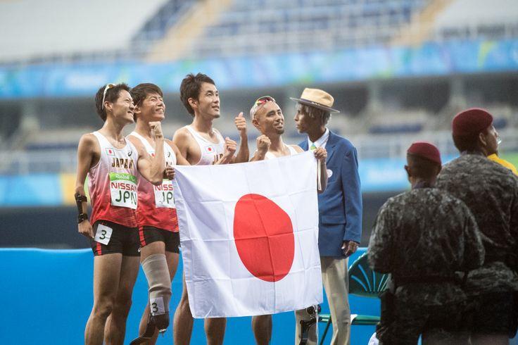 陸上:男子400Mリレーで銅メダル!走り高跳び鈴木は惜しくもメダルに届かず #リオ五輪 #パラリンピック