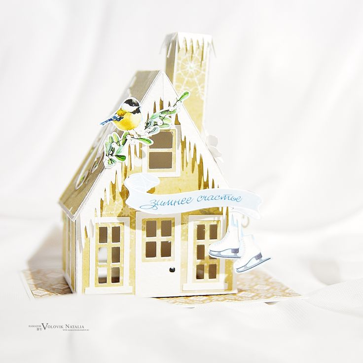ScrapBerry's: a handmade wintery house by  Hamajum, A Taste of Winter collection