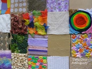 My Delicious Ambiguity: Sensory Texture Boards