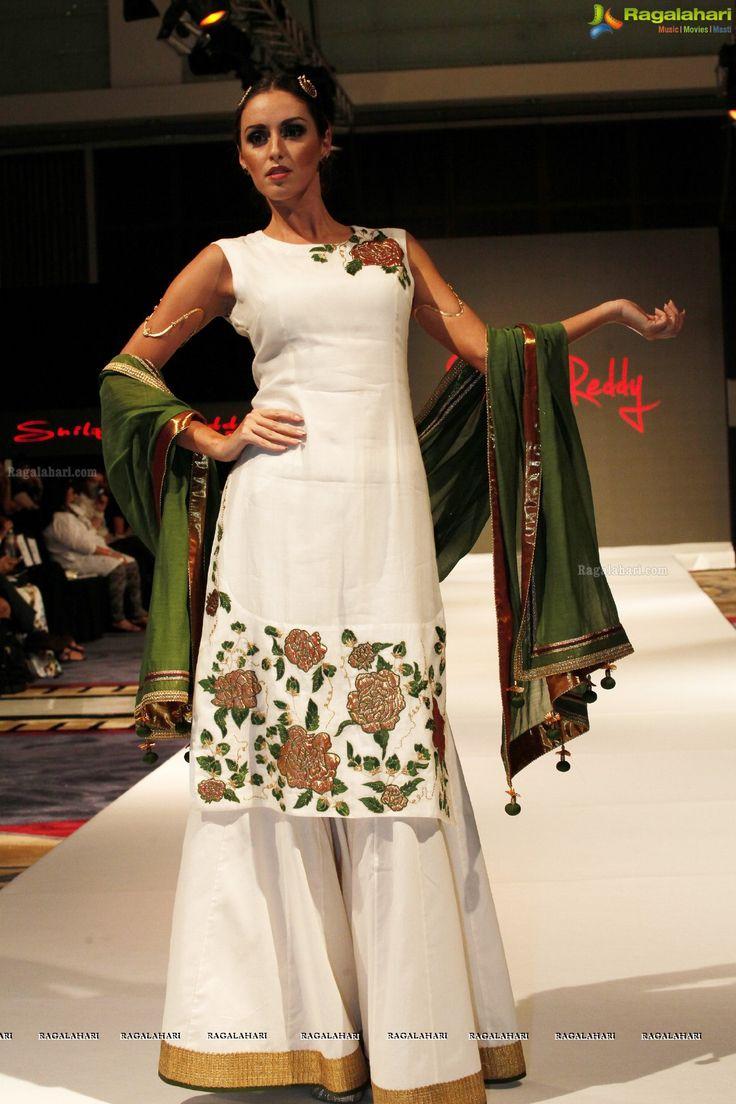 Shilpa Reddy Collections at India Fashion Week 2014, Dubai
