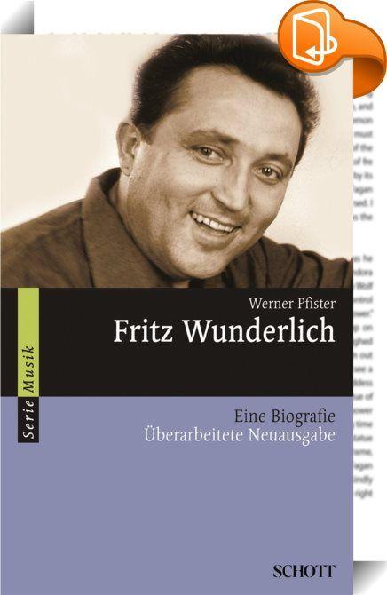 Fritz Wunderlich    ::  Als Fritz Wunderlich 1930 im nordpfälzischen Kusel geboren wurde, konnte niemand ahnen, dass einer der größten Sänger des 20. Jahrhunderts das Licht der Welt erblickt hatte. Seine ungewöhnliche musikalische Begabung, die schon früh von seinen Eltern gefördert wurde, ließ kaum einen Zweifel an seiner späteren Berufung aufkommen. Nach dem Gesangsstudium eroberte er innerhalb weniger Jahre die Opernhäuser und Konzertsäle Europas und wurde der bedeutendste deutschsp...