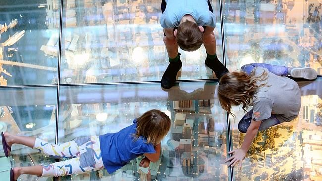 Get a bird's-eye view of Sydney at Customs House Library, Circular Quay. Picture: Richard Dobson