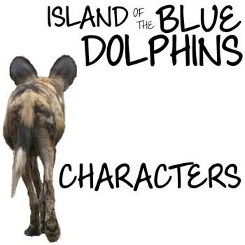 best teaching island of the blue dolphins images the island of the blue dolphins characters organizer by scott o dell