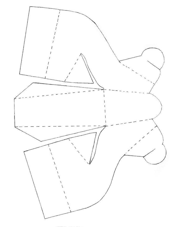 Шаблоны туфельки для детей