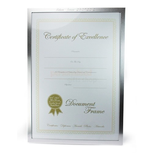Personalised Certificate Frame  from Personalised Gifts Shop - ONLY £19.95