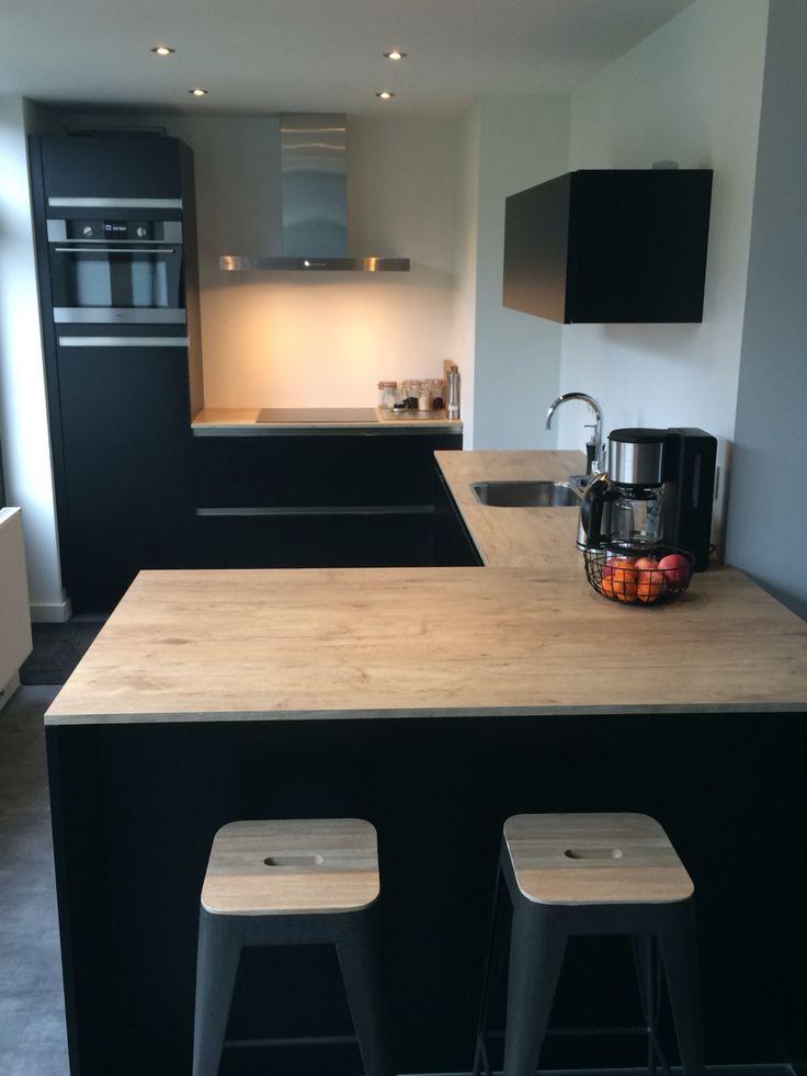 25 beste idee n over kleine keukens op pinterest kleine landelijke keukens keuken for Kleine amerikaanse keuken met bar