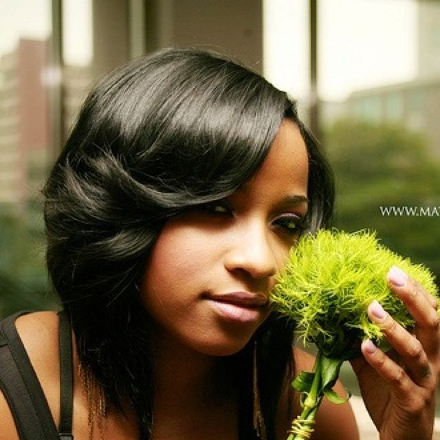 18 best hair weaves images on pinterest hairstyles waves and black quick weave bob sew in toya carter short bob quick weaves sew ins pmusecretfo Choice Image