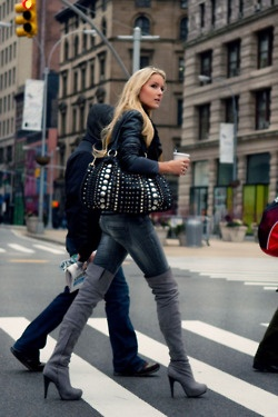 17 Best images about over the knee boots on Pinterest | Blazers ...