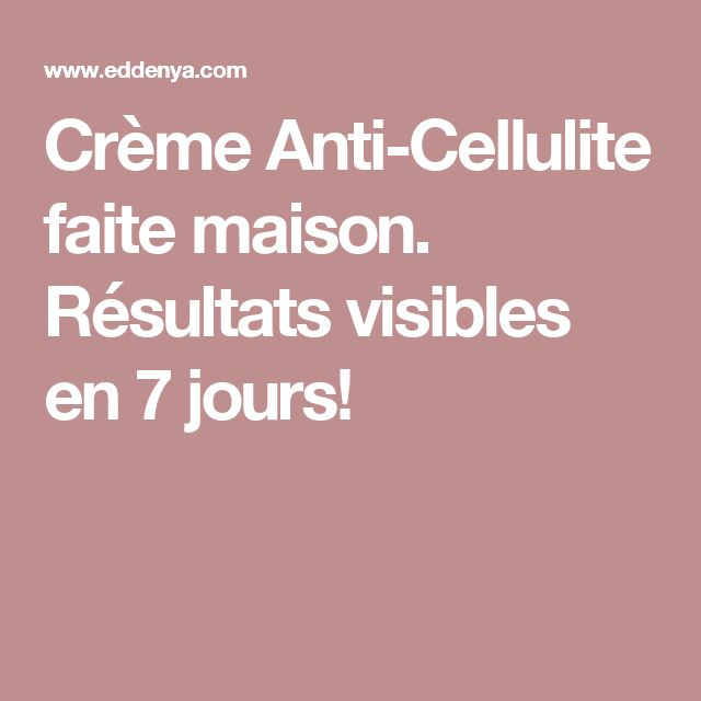 1000+ ideas about Anti Cellulite on Pinterest | Reduce
