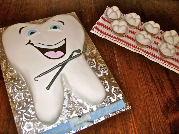 торты в виде зубов фото мастер-класс