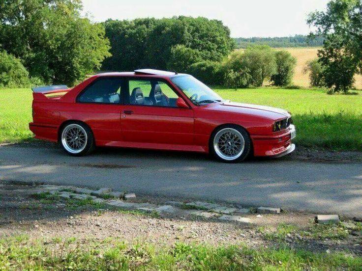 BMW E30 M3 red | Automotive | Pinterest | Black, BMW and ...