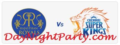 Chennai Super Kings vs Rajasthan Royals 30th Match Live Scorecard April 22 2013 IPL 6