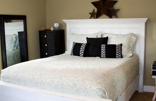 Ana White | Build a Full Size Farmhouse Bed | Free and Easy DIY Project and Furniture Plans