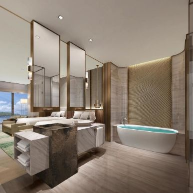Conrad hotels resorts unveils smart luxury in china 39 s for Bathroom interior design bd
