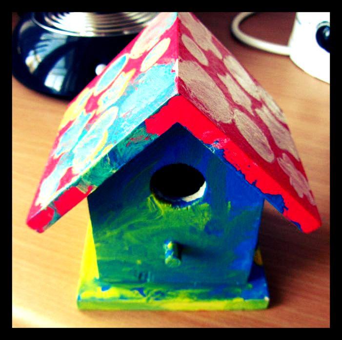 die besten 25+ vogelhaus bemalen ideen auf pinterest | gestrichene,