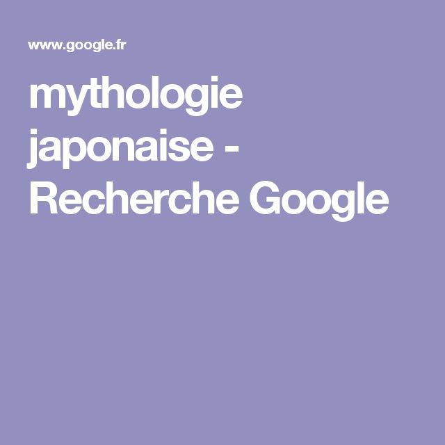 mythologie japonaise - Recherche Google