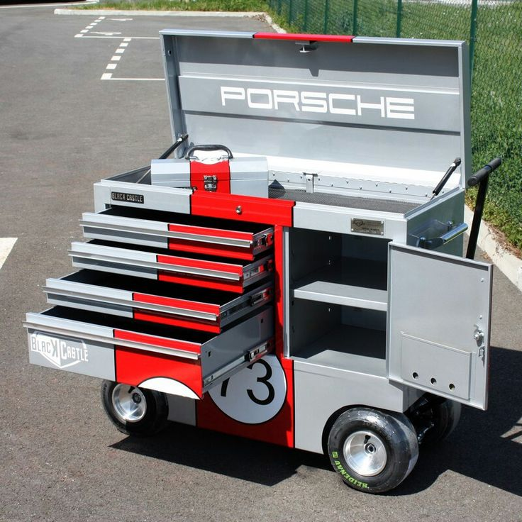 Porsche Toolbox | Man Caves, Garages & Shops in 2019 ...