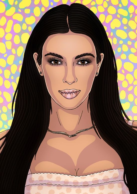 How not to talk to people with an eating disorder ...  |Kim Kardashian Cartoon