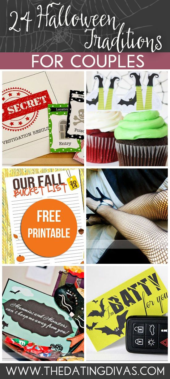 Halloween isn't just for the kiddos. Check out these ideas for two. www.TheDatingDivas.com