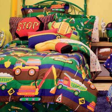 Tyler's Toy Chest Bed-In-A-Bag Set