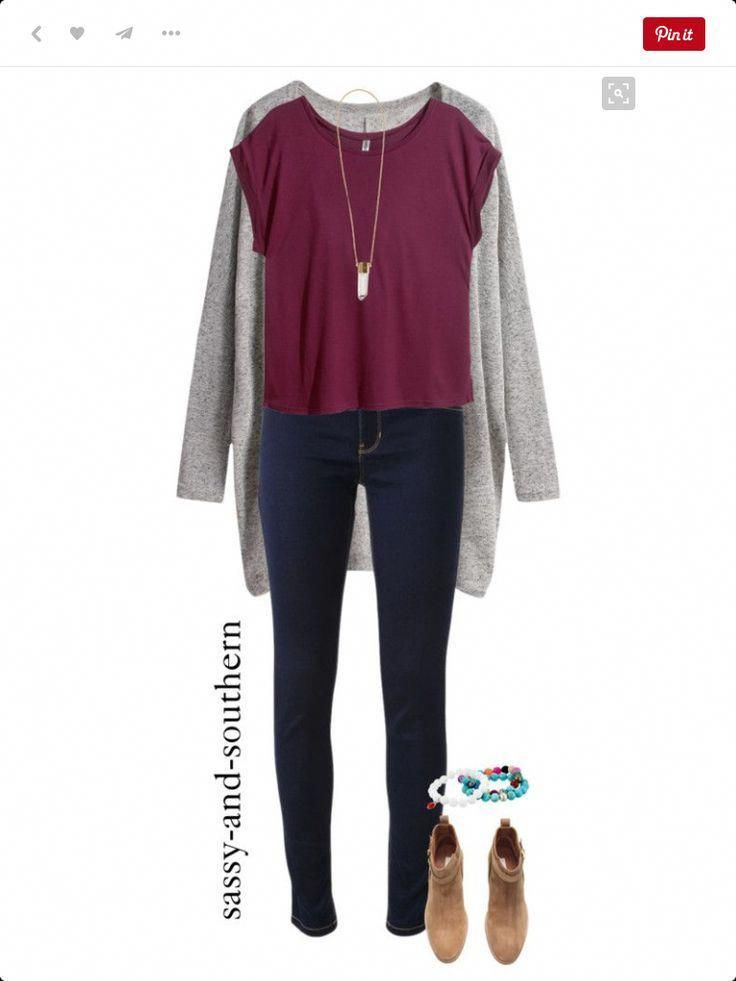 Really cute for 6th graders –  – #SchoolOutfits