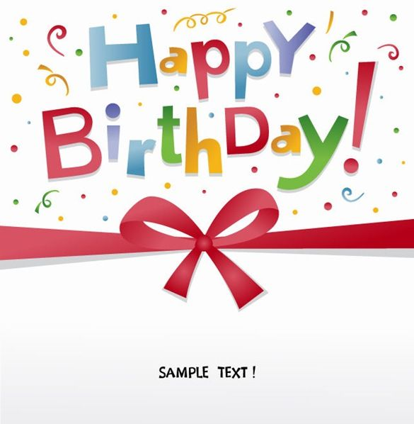 Happy Birthday Pictures Free | Free Happy Birthday Greeting Card Vector | Free Vector Graphics | All ...