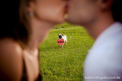 ' Casar é chic ! , *: Ensaio de Save the date com pug !