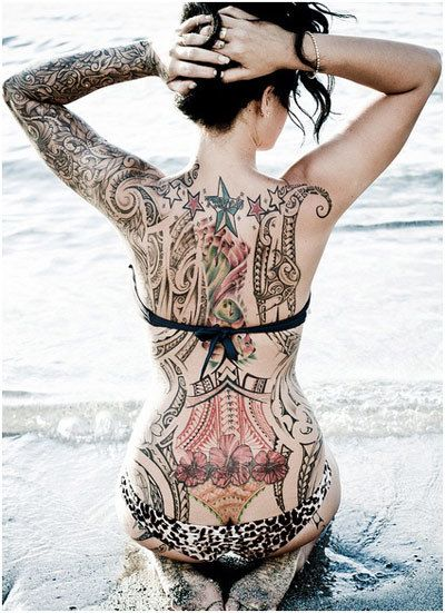 The body is the tattoo lovers canvas! Here are some body tattoo designs that will make you want to ink yourself all over again.