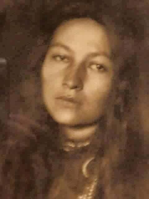 Grand daughter of Sitting Bull, how beautiful is she?