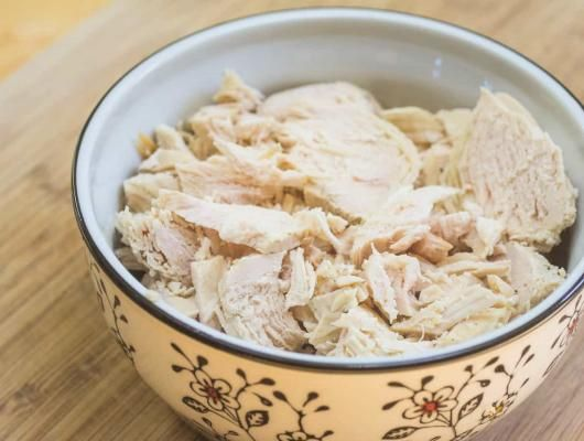 Instant Pot Shredded Chicken Breasts | It is an easy trick that I've been loving since I got my pot. It makes for very easy dinners all week long!