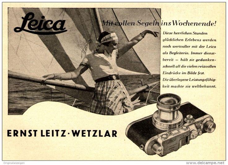 Original-Werbung/ Anzeige 1936 - LEICA KAMERA - ERNST LEITZ WETZLAR - ca. 140 x 110 mm