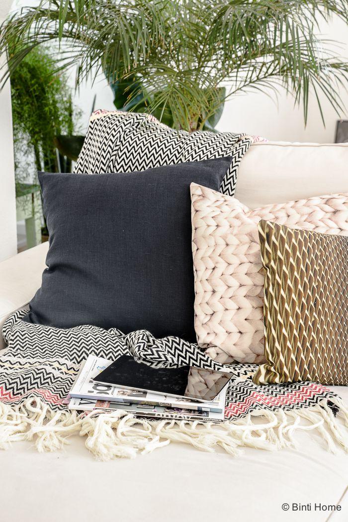 Interieurinspiratie : een zithoek in modern eclectische woonstijl | Binti Home blog : Interieurinspiratie, woonideeën en stylingtips