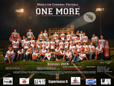 Professional Sports, Club or Group Posters designed by Paul Toepfer Photography …