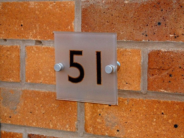 #FAB #House #Numbers //.de-signage. & 67 best House Numbering Ideas images on Pinterest   House numbers ...