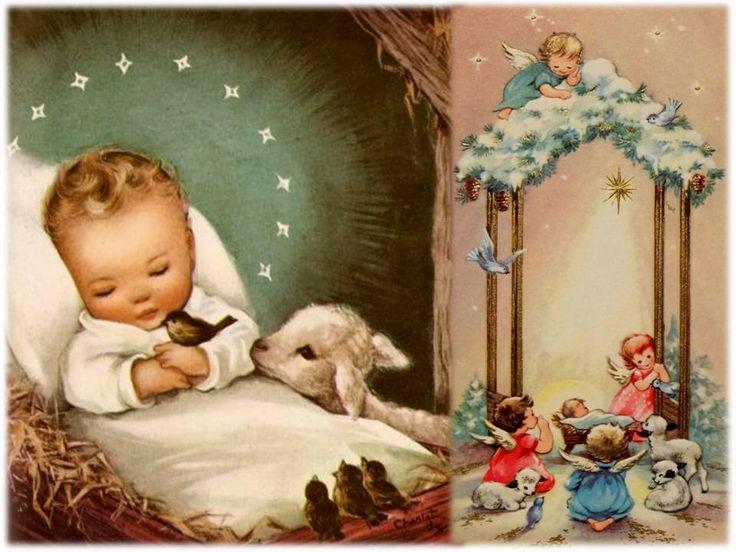 Adorado Niño Jesús   que hoy has nacido en un pesebre,   al calor de un buey y una mula,   recién nacido y ya conoces la pobreza,   no...