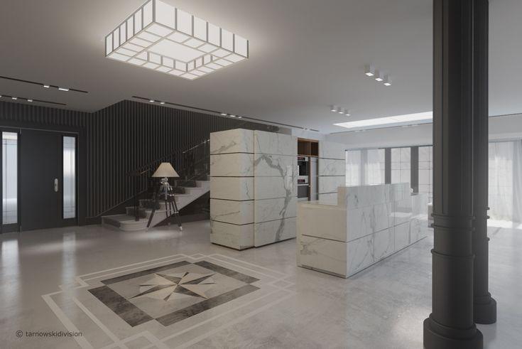 HOUSE INTERIOR. HALL. FLOOR DECOR. designed by tarnowskidivision