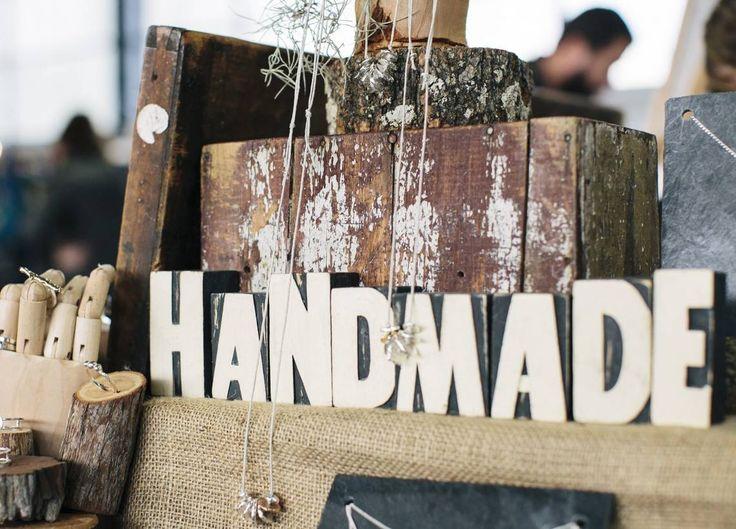 Handmade Sign for The Handmade Market Canberra
