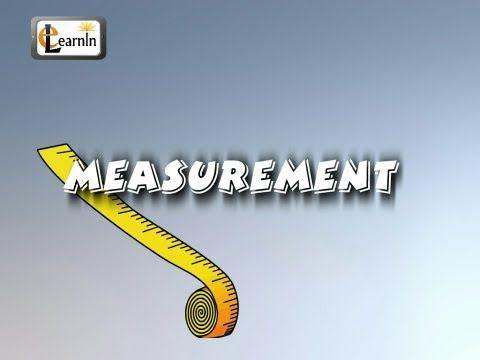 What Is a Measurement? #Education #Kids #Math #Measurement